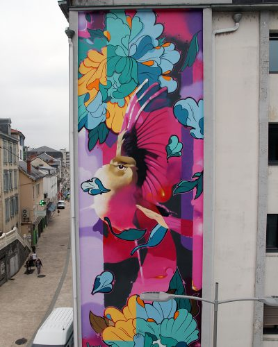 Fresque keymi credit agricole Tullle